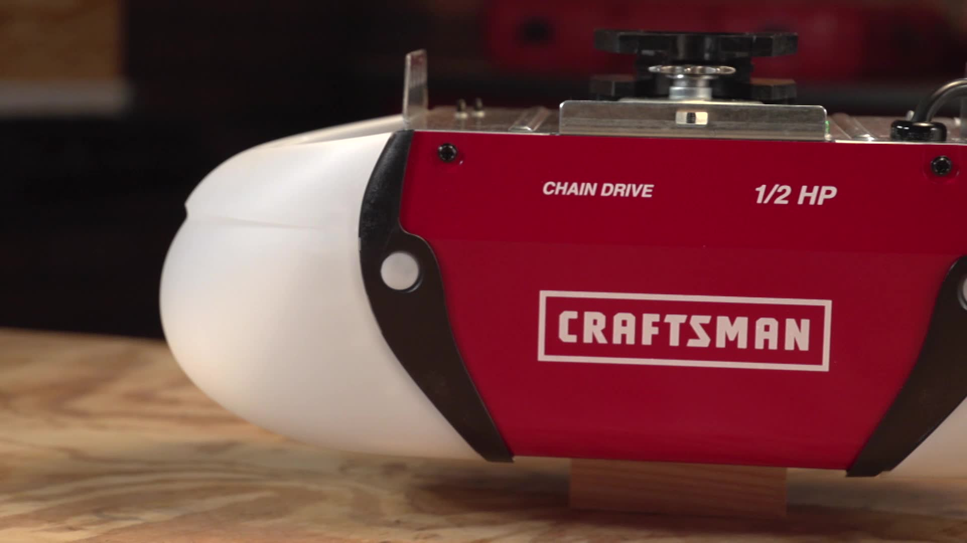 Craftsman Hp Chain Drive Garage Door Opener Review Garage Sanctum