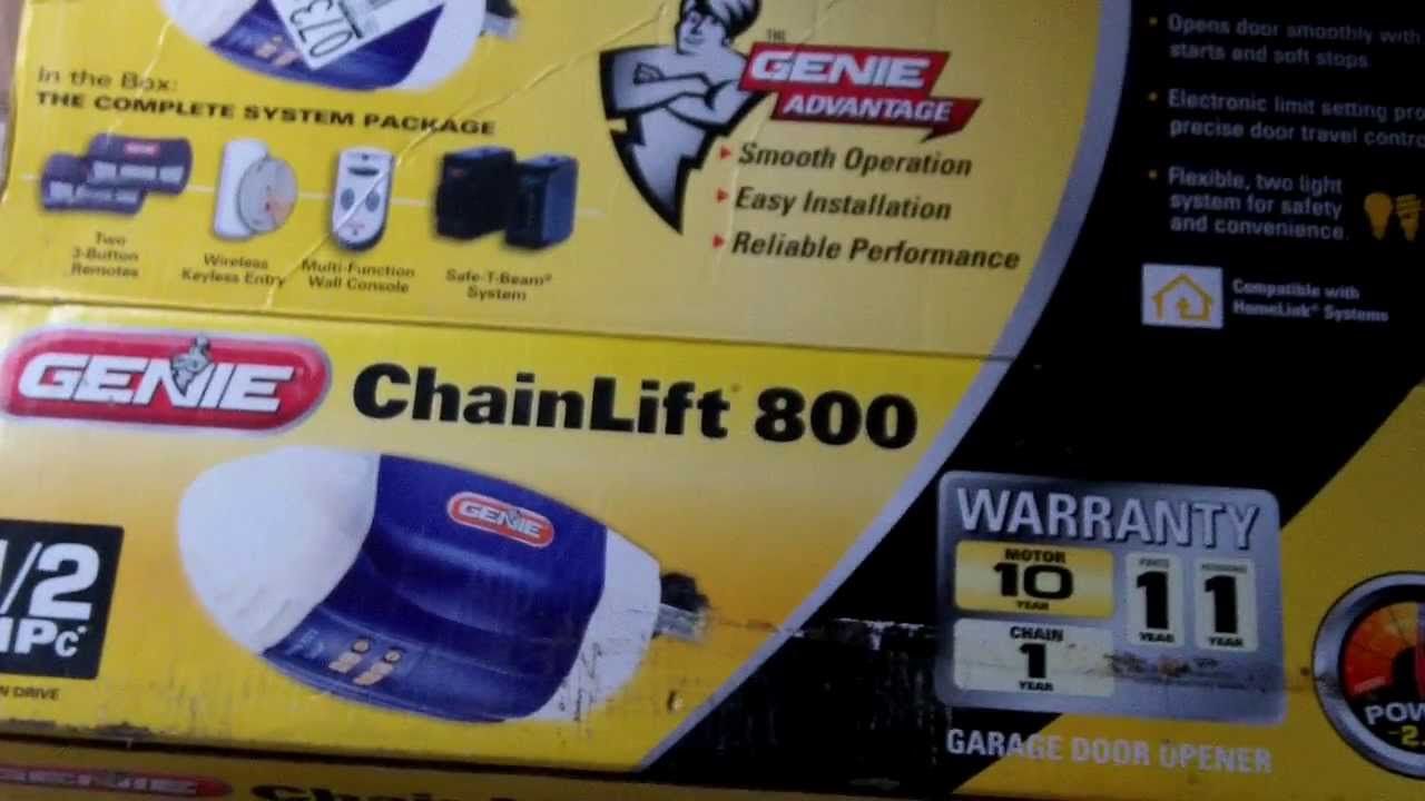 Genie ChainLift 800 Review