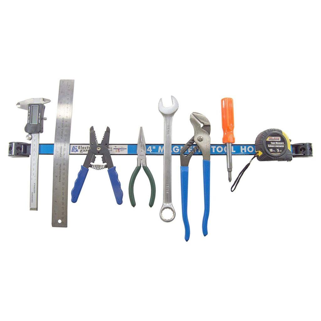 magnetic holder for tool organization