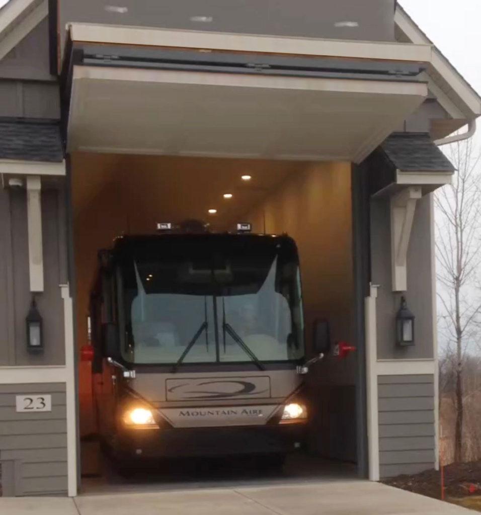 garage door for rv