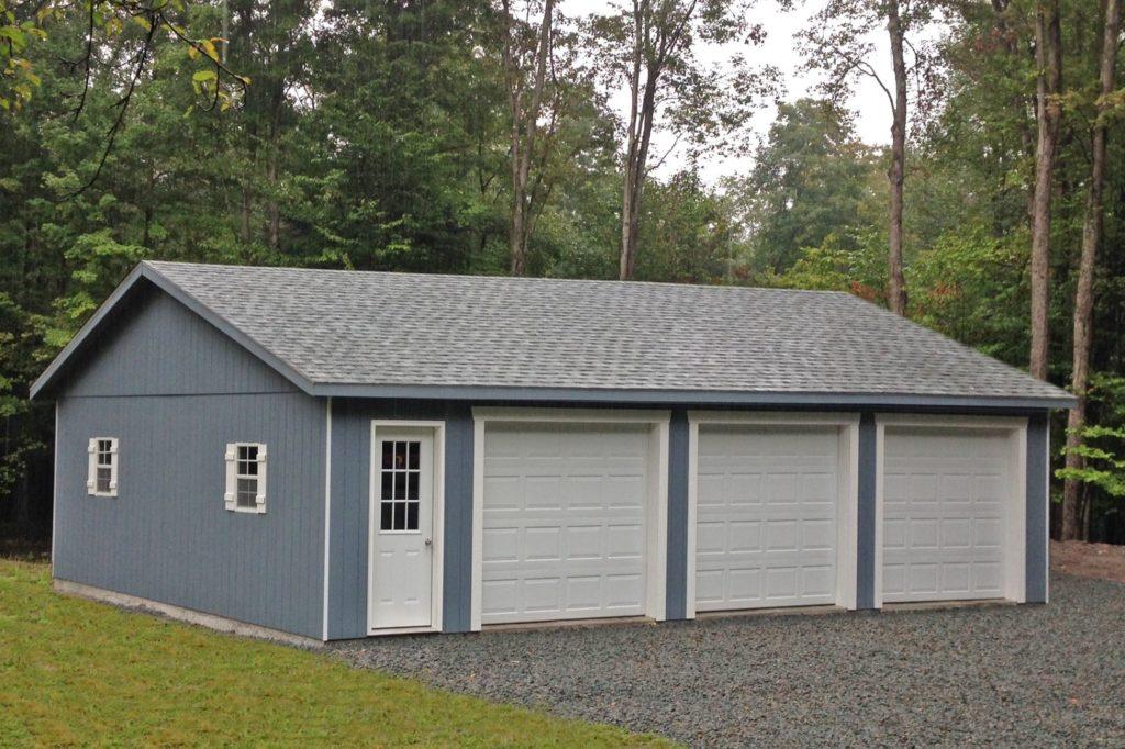 3 car garage size and plan