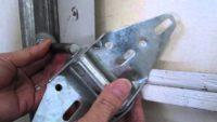 Garage Door Hinge Replacement