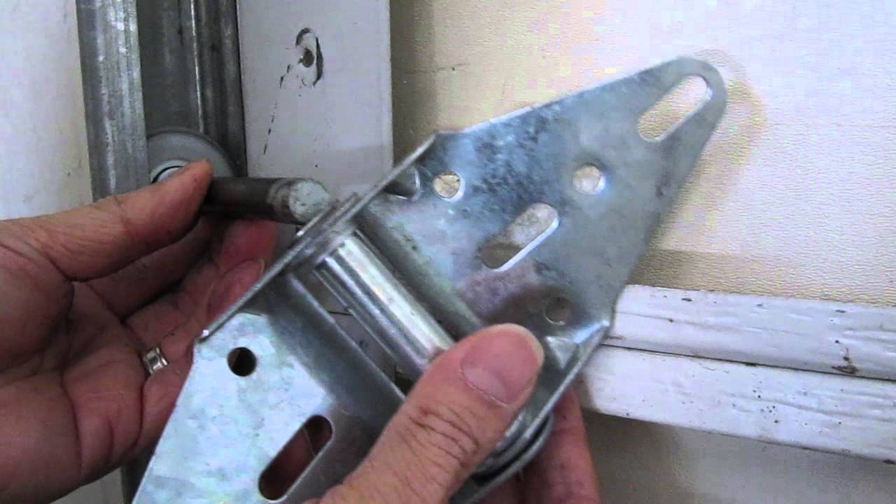 Garage Door Hinge Replacement