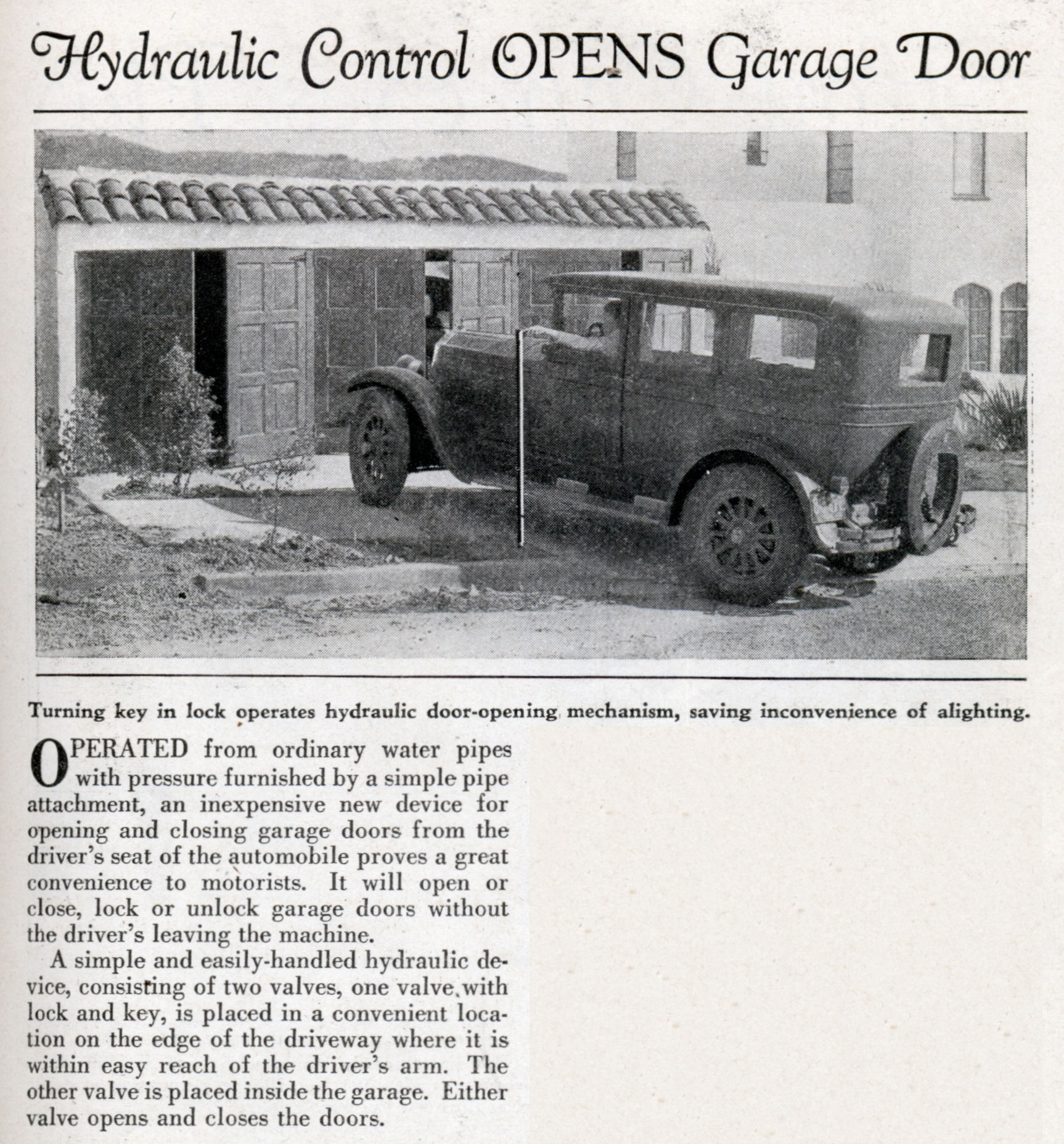 History Of Garage Door Openers