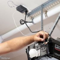 How to diagnose drained battery on your garage door opener system and how to replace it?