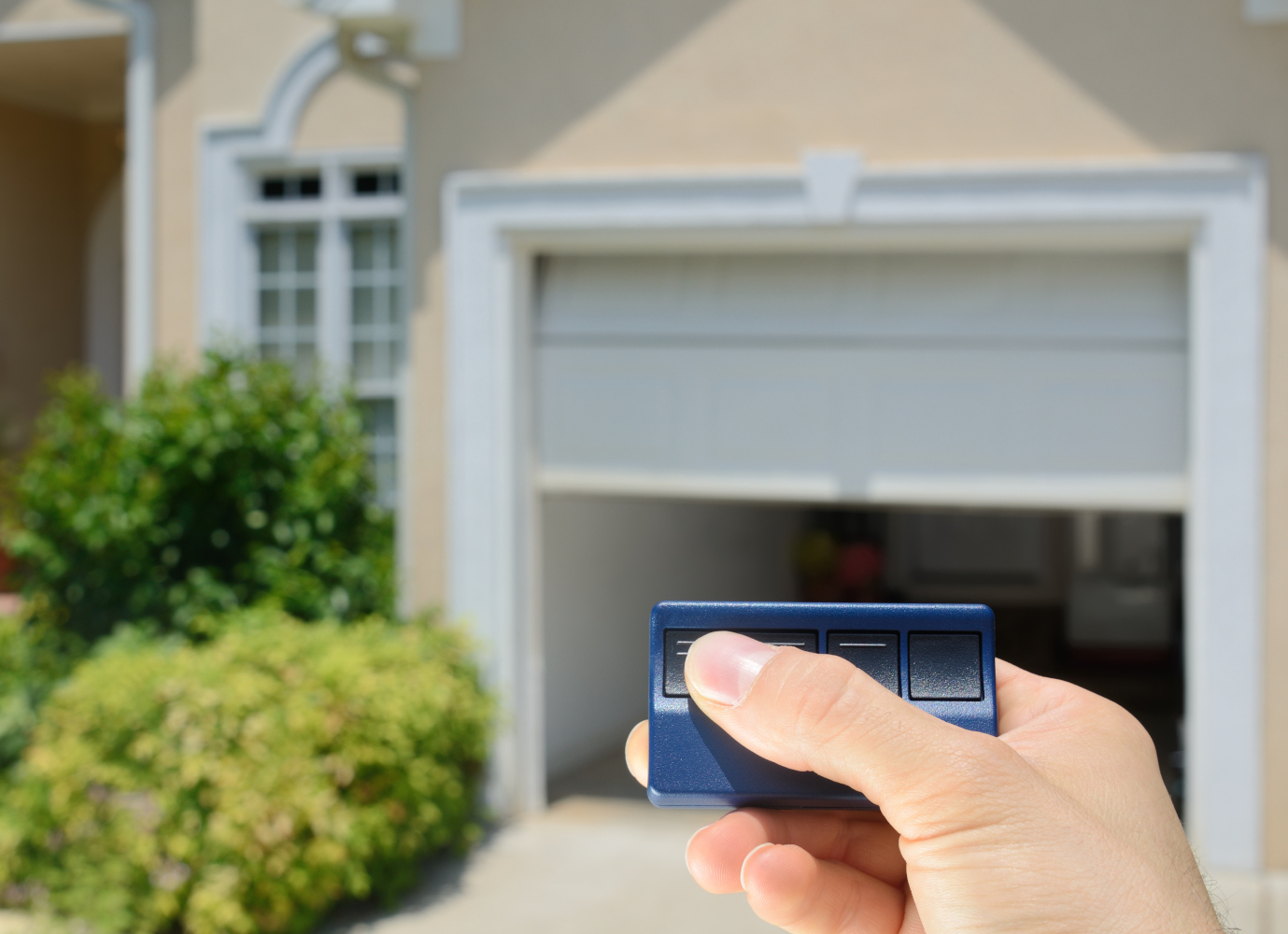 Installing a keypad to your garage door opener system