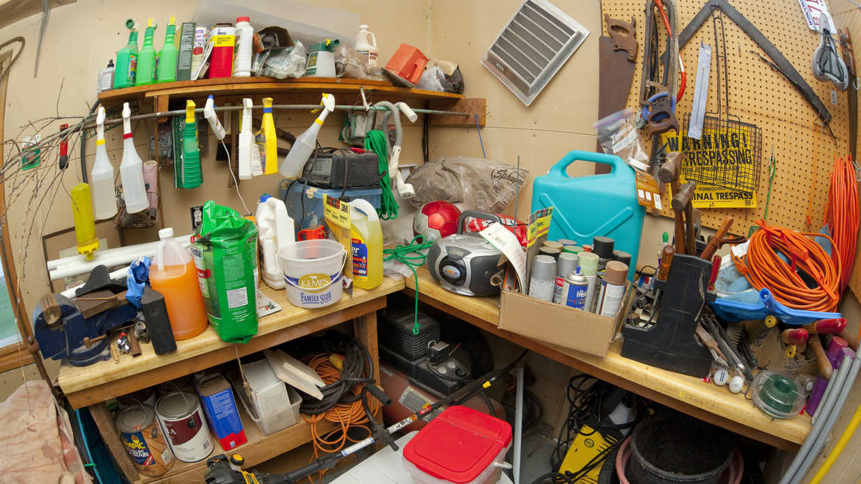 Things That Should not be Stored in a Garage