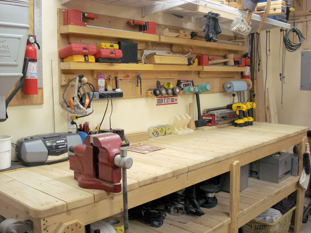 Why you Should add a Workbench to your Garage