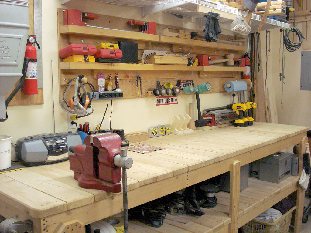 Why you Should add a Workbench to your Garage?