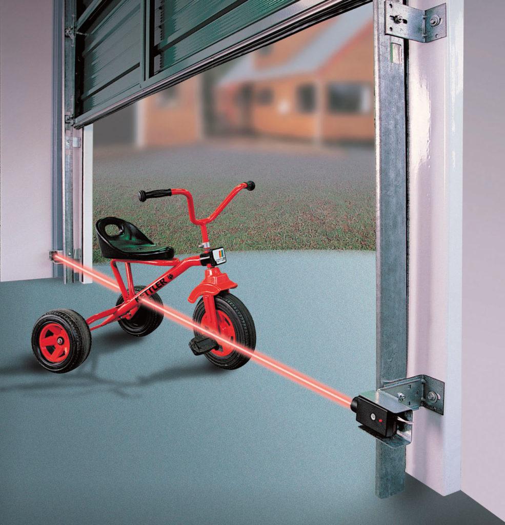 garage laser beam sensor