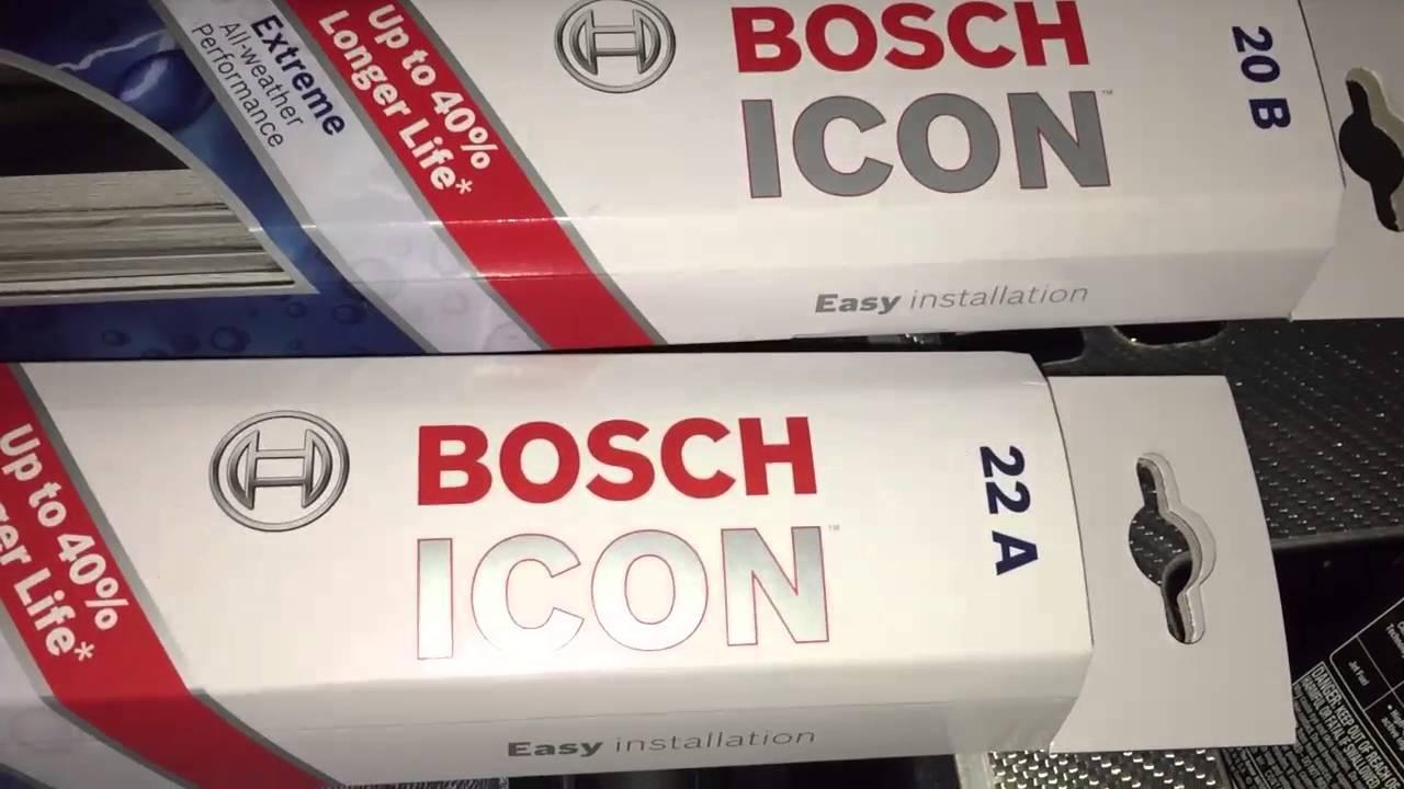 Bosch Icon Wiper Blades Review