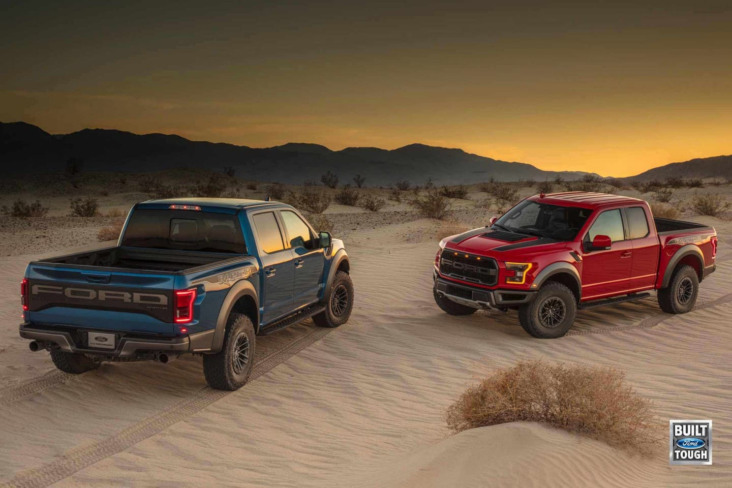 Trucks Ford Raptors