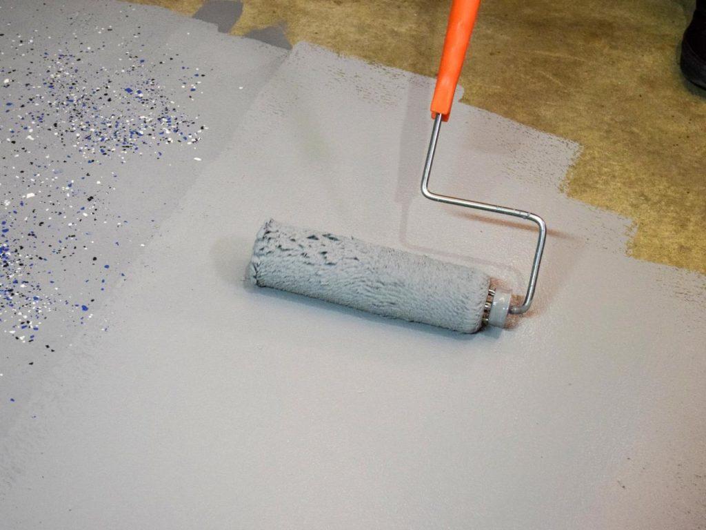 DIY Garage Floor Coating
