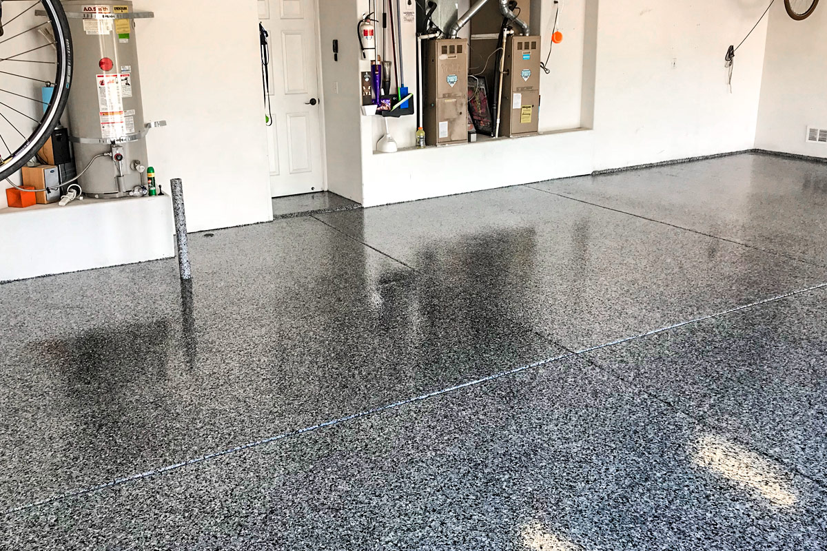 How to Coat Garage Floor