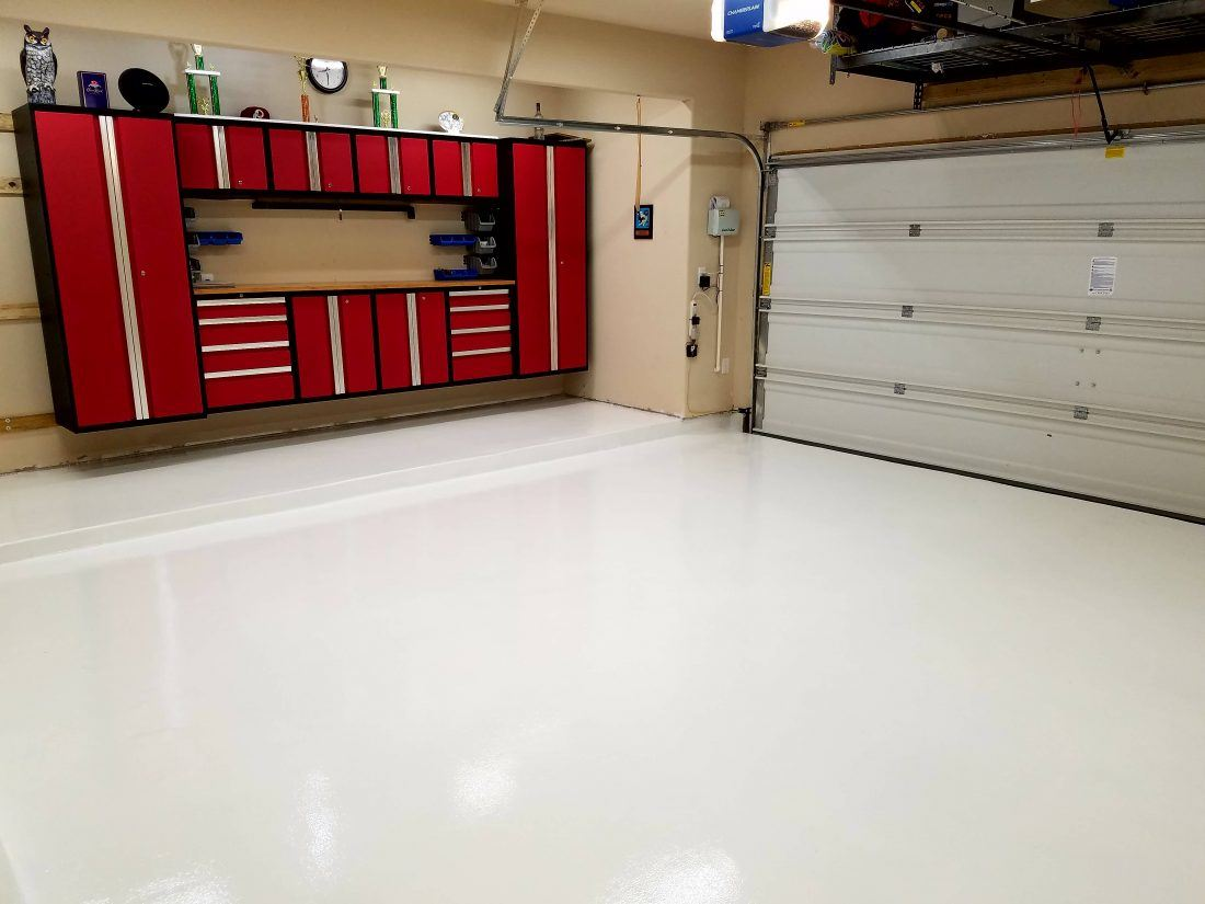 Polyurea Garage Floor Coating