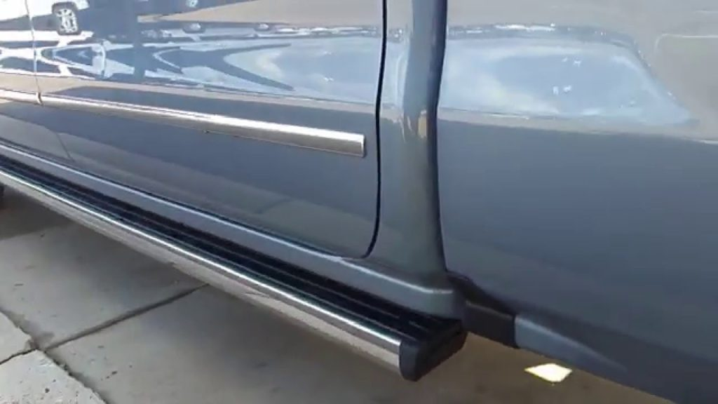 Running Boards on a Truck