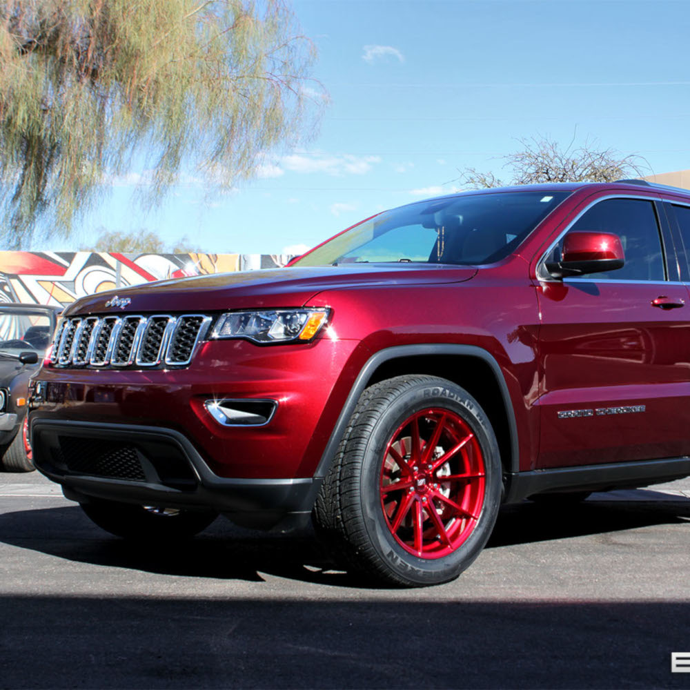 Jeep Grand Cherokee Tire Size Chart