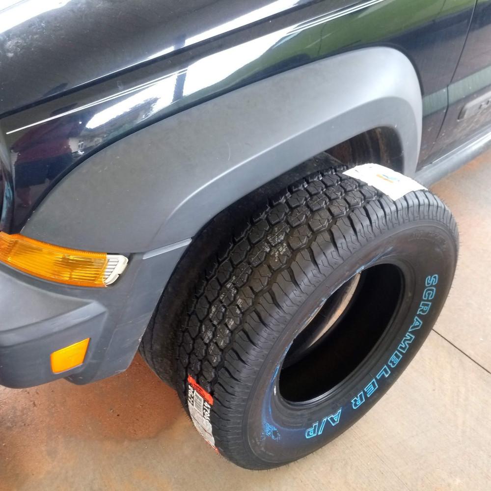 Jeep Liberty Tire Size Chart